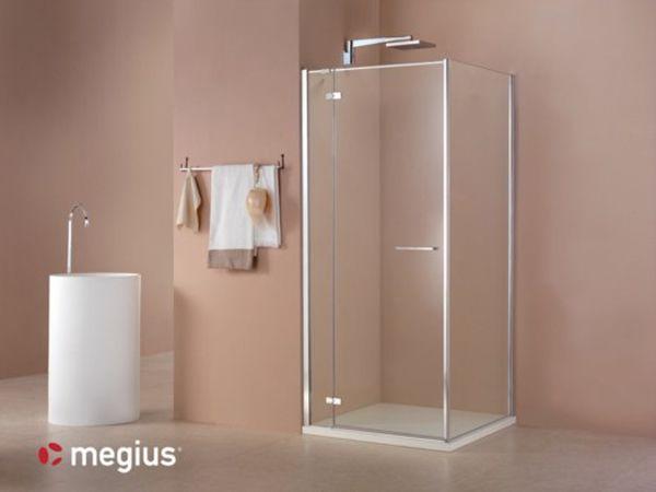Una cabina per la doccia dalle linee pulite ed essenziali: Smart