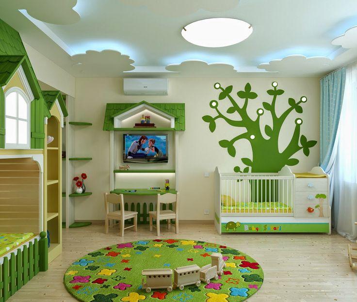 дизайн интерьера: Детская комната для двоих. Квартира в Херсоне.