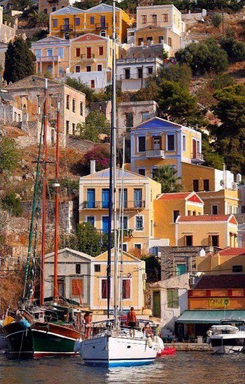 Cruising in the Dodecanese ? Do ~ Symi Island, Greece