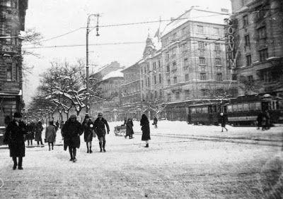 Kondor Vilmos | Budapest Noir | Budapest VIII., Üllői út-József körút kereszteződése, 1935 körül | #book #crime #budapest