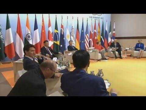 En la primera jornada del G20, Macri reclamó por Venezuela y este sábado se reúne con Macron - Télam - Agencia Nacional de Noticias