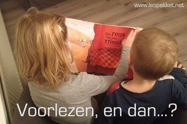 Voorlezen, en dan...? - jufBianca.nl - woordenschat - mindmap - creatief - bouwen - na spelen - zelf een boek maken - herhalen