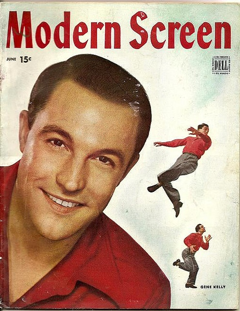 modern screen magazine june 1946 gene kelly cover.