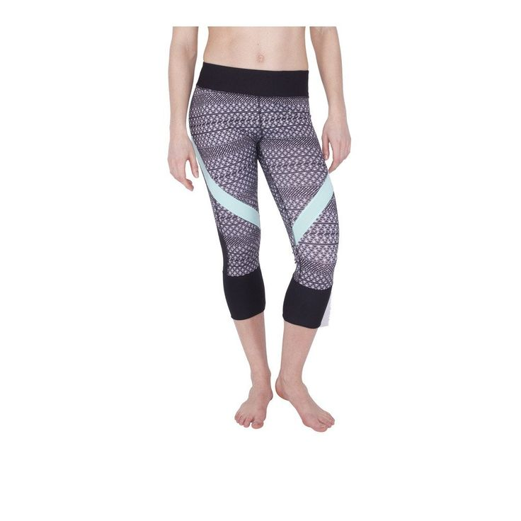 Live Heathered Capri Leggings