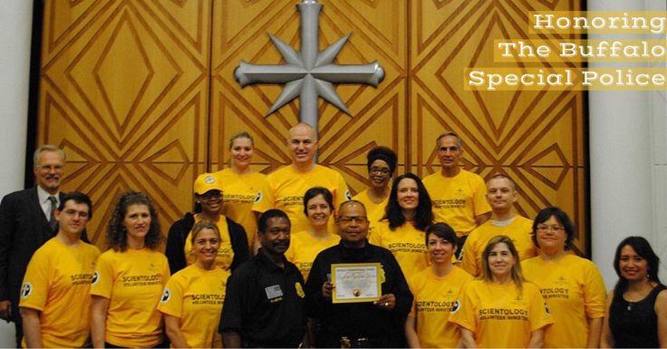 Church of Scientology Honors #Buffalo Special #Police on #WorldHumanitarianDay http://qoo.ly/hcs3u