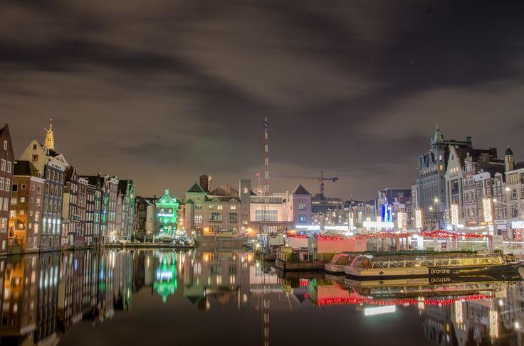 Photograph Night in amsterdam by Petru Cojocaru on 500px