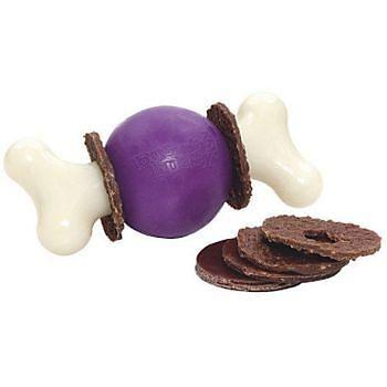 Interaktívne hračky pre psa Busy Buddy.   http://www.zvieraciraj.sk/psy/hracky/busy-buddy.html  ceny už od : 4,90€