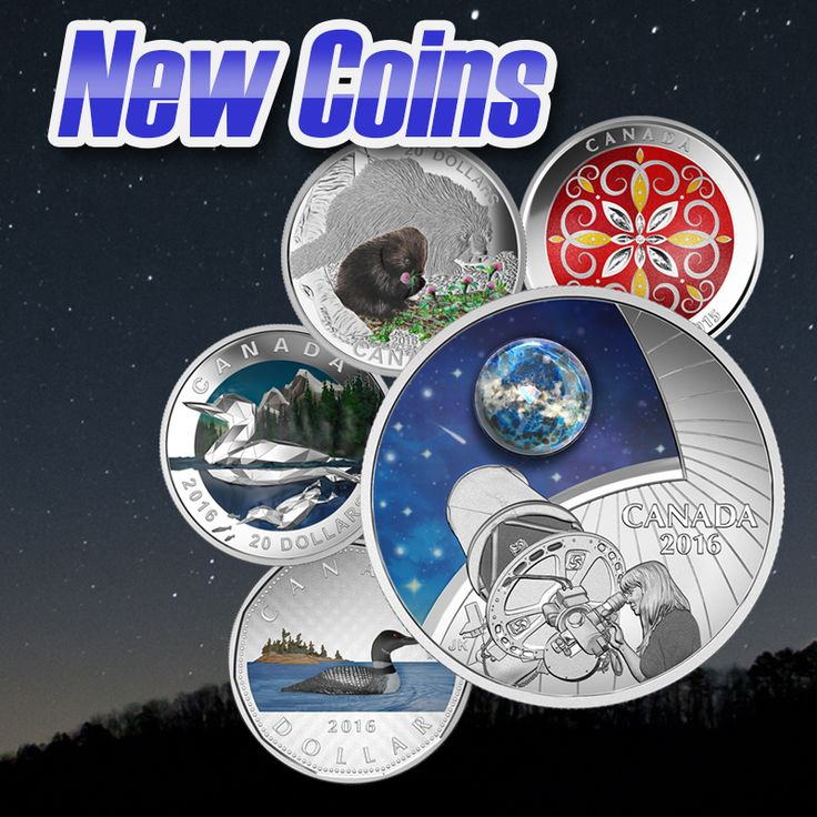 The new coins are now out for the taking! Collect these beautiful new coins and add them to your collections today.
