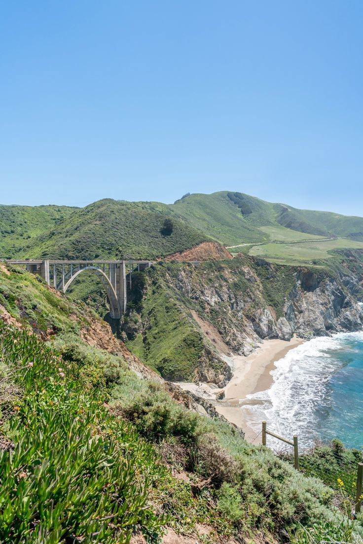 Bixby Creek Bridge. Things to do in Monterey. Bring the whole family and explore!   #Vacation #Family #Travel
