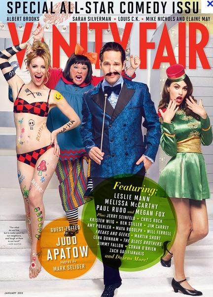 Vanity Fair - Paul Rudd, Leslie Mann and Megan Fox