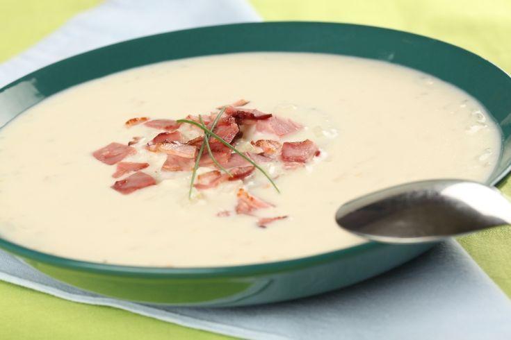 Klátovská bryndzová polievka