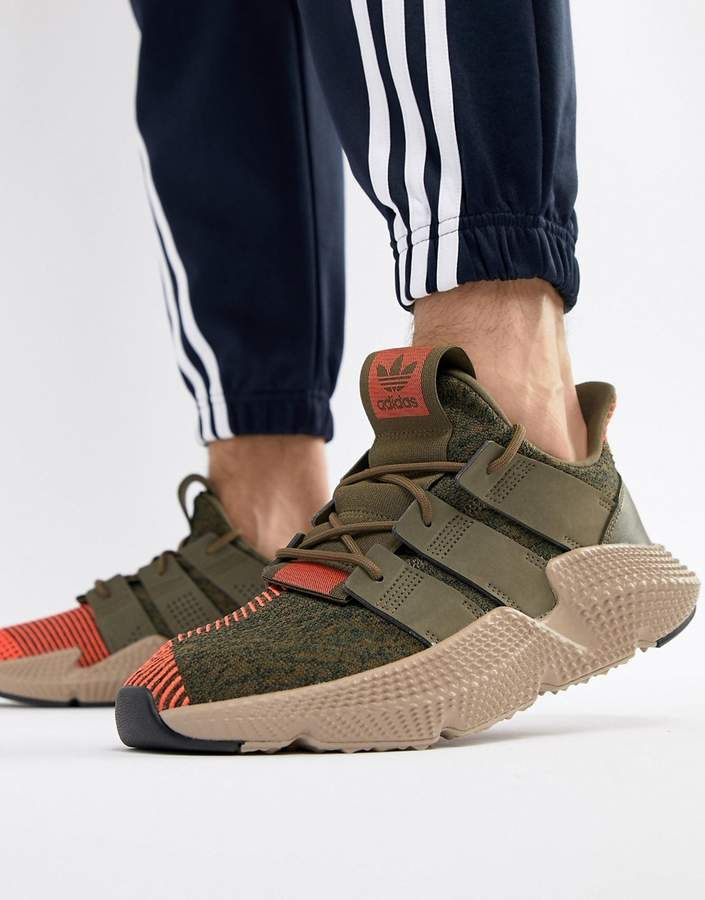 cheap for discount 42eff 98ddf adidas Originals Prophere Sneakers In Green CQ2127