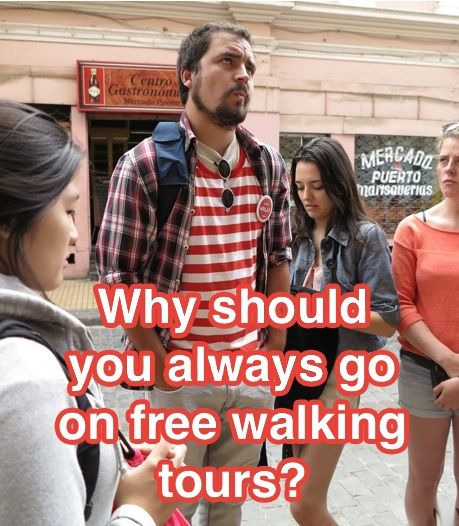 Why should you go on free walking tours? Advice for the #solo traveller. #travel #advice #tips #blog