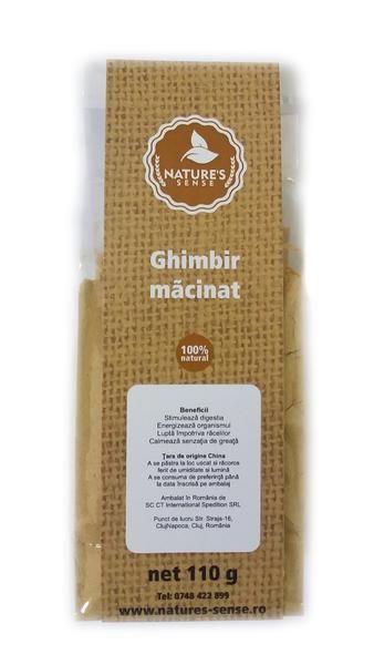 Ginger powder, 110 gr. - crazybanana.eu