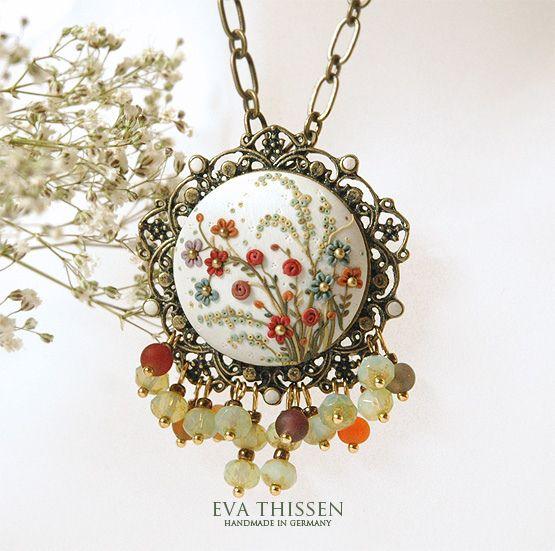 The English Garden handmade necklace