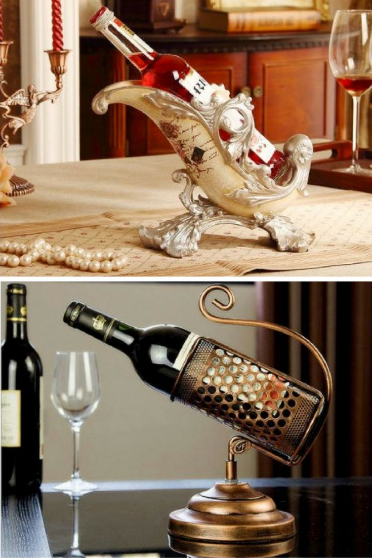 25 Unique Wine Bottle Holders