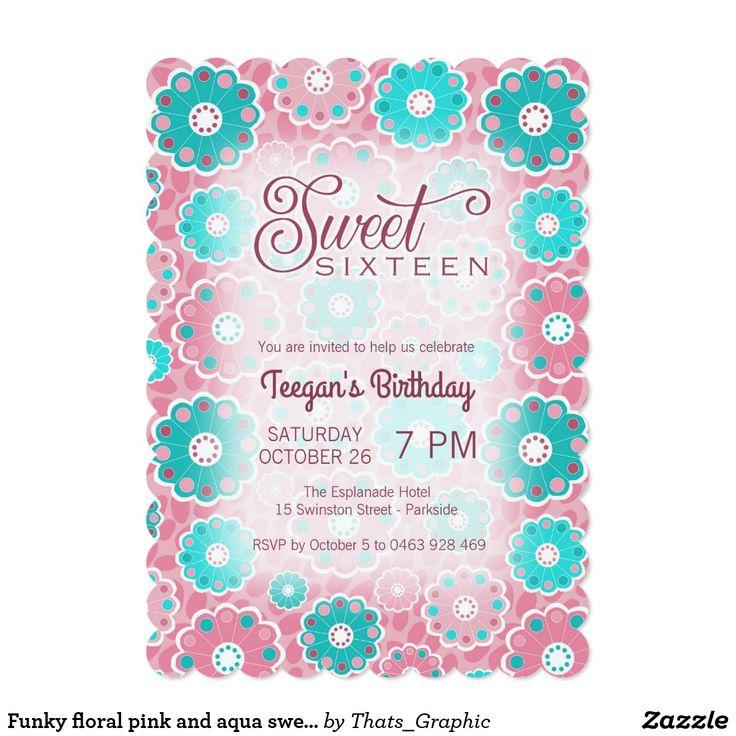 418 Best Teens 13 17 Birthday Invitations Images On Pinterest