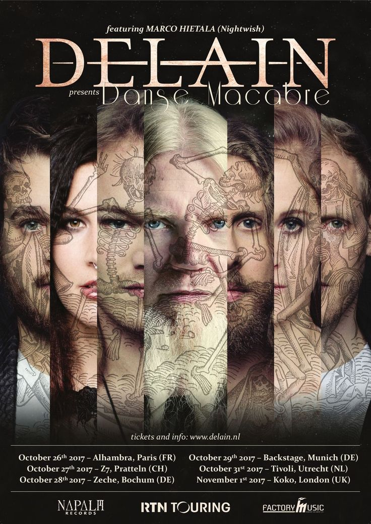 NEWS:  Delain spielen Special Shows mit Marco Hietala (Nightwish)