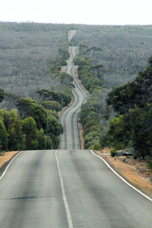 Kangaroo Island road, South Australia