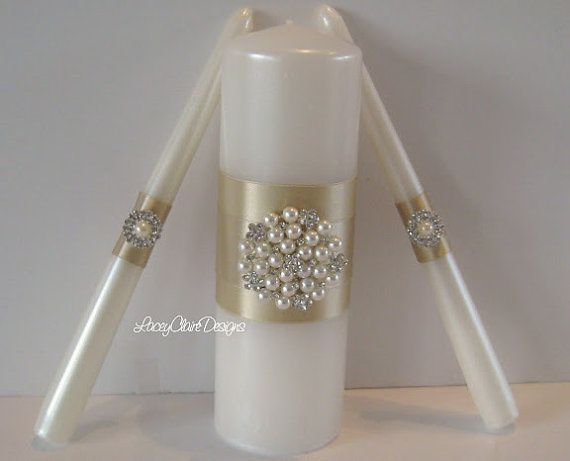unity candles wedding unity candle ceremony by laceyclairedesigns