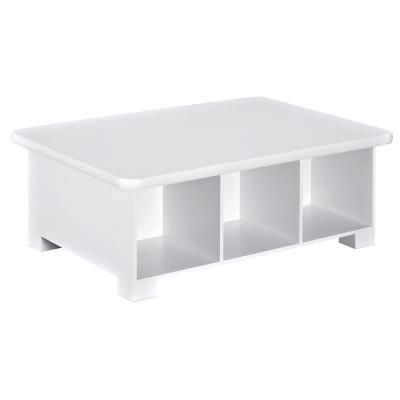 ClosetMaid 39.8 in. W x 14.8 in. H Activity Table in White-1599 - The Home Depot