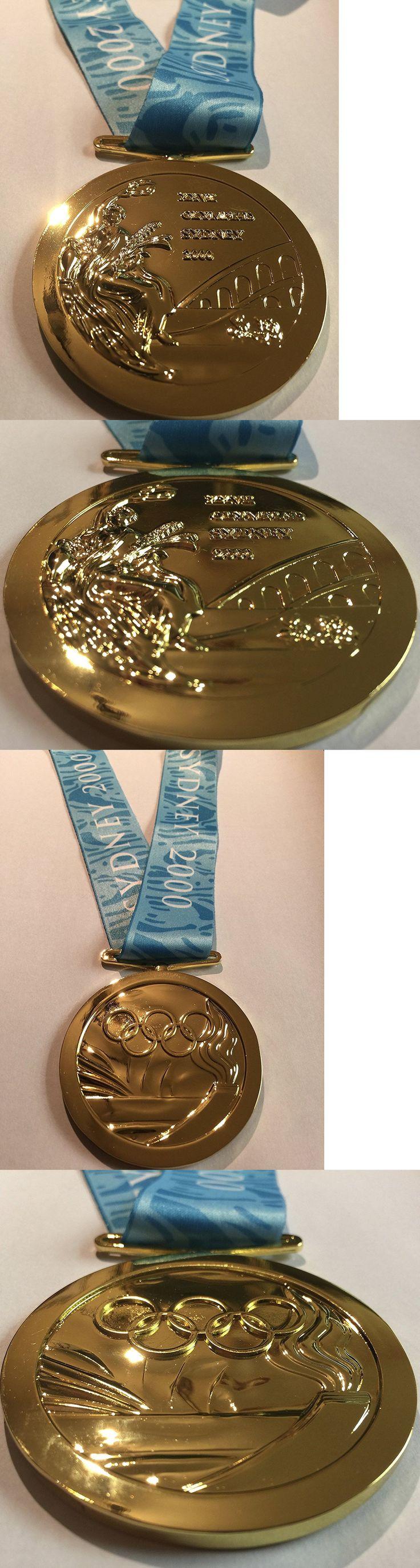 Olympics 27291: 2000 Sydney Australia Olympic Souvenir Gold Medal Rare Team Usa 1:1 Full Size -> BUY IT NOW ONLY: $49.95 on eBay!