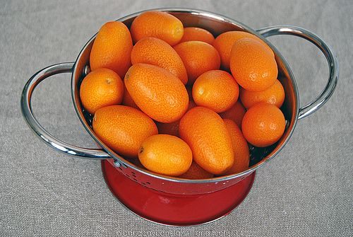 Mermelada de kumquats y naranja sanguina