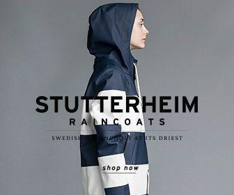 stutterheim, raincoats, sweden, swedish, fashion