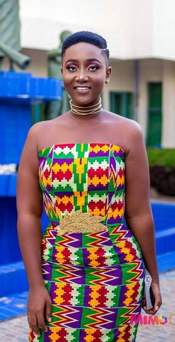 pinterest modern kente fashion dress 2018, Ghanaian fashion, ntoma, kente styles, African fashion dresses, aso ebi styles, gele, duku, khanga, krobo beads, xhosa fashion, agbada, west african kaftan