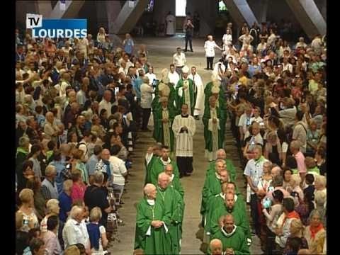 Messe internationale de Lourdes du dimanche 30 juil. 2017