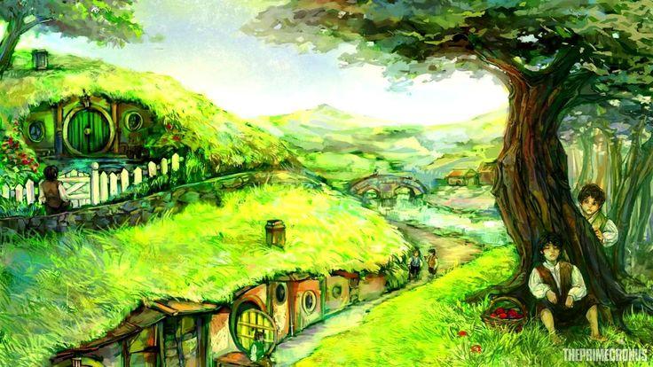 Ekaterina - The Shire [Fantasy Music] - YouTube