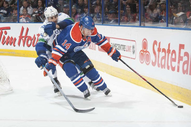 Jordan Eberle #14 Edmonton Oilers