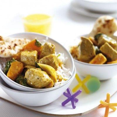 Coconut Pork Curry with Fresh Coriander