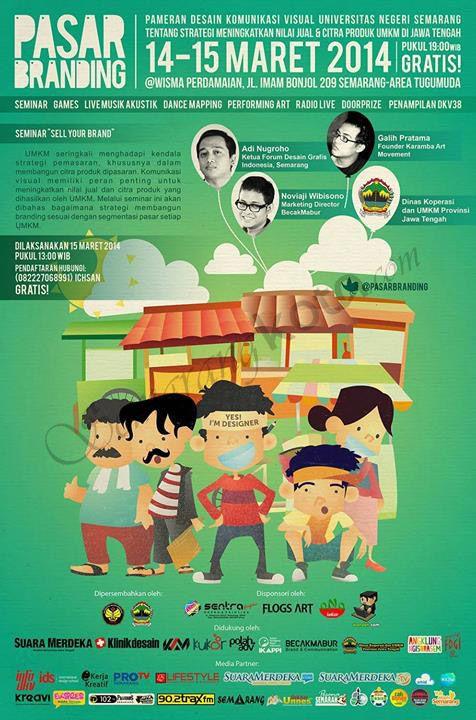 Pameran Desain Komunikasi Visual Universitas Negeri Semarang