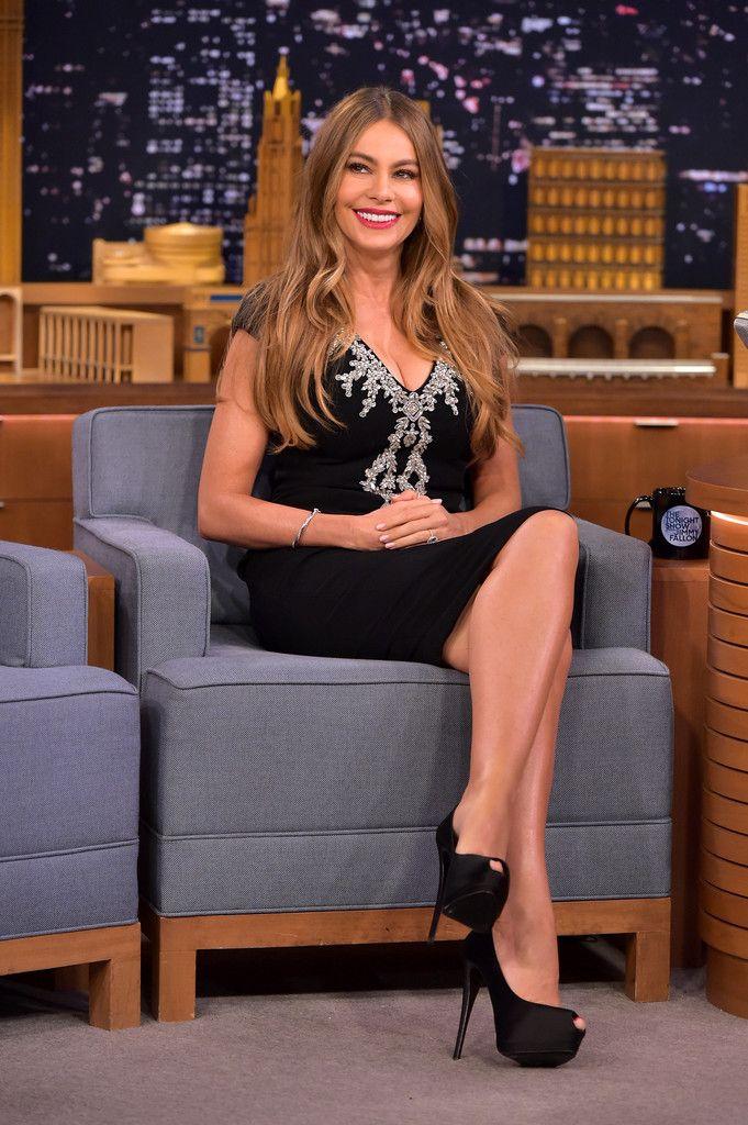 Sofia Vergara Photos - Sofia Vergara Visits 'The Tonight Show Starring Jimmy Fallon' - Zimbio