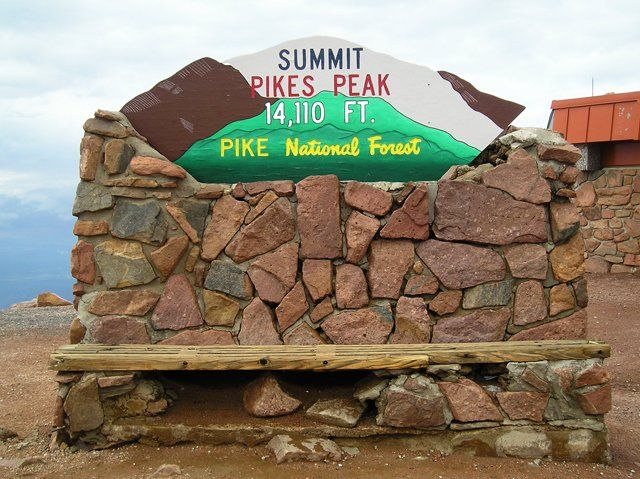 7 weeks til our vacay in Colorado for Z's Bday! Pikes Peak is #1