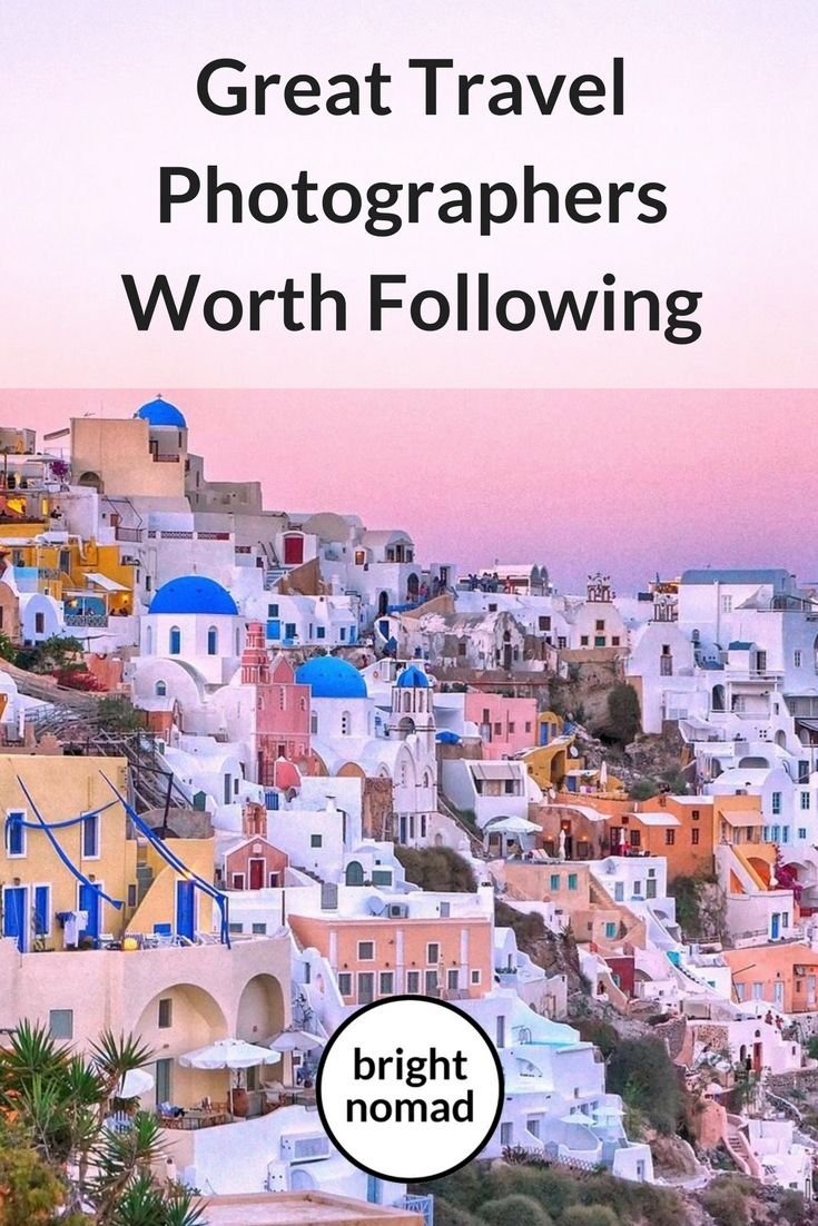 10 Great Travel Photographers Worth Following - If you are moved by good photography like I am, you're going to enjoy this post    There are few things that can cure your wanderlust when you're not travelling. Very, very few. One of them is spending your days endlessly browsing through travel photos. #travelphotography #travelblogger