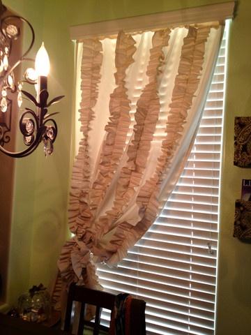 DIY Tuesdays- Ruffled Curtains | Dandelion SquareAddison Bedrooms, Decor Ideas, Diy Ruffles, Sewing Diy, Baby, Apartments, Ruffles Curtains And, Curtains Diy Repin, Crafts Sewing