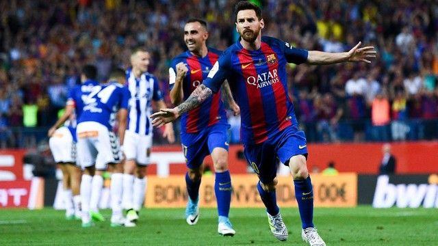 Messi gol Barcelona Alavés (créditos: Getty Images)