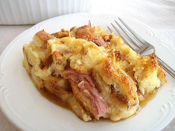 Easy Breakfast Casserole serves 6, great for the weekend.