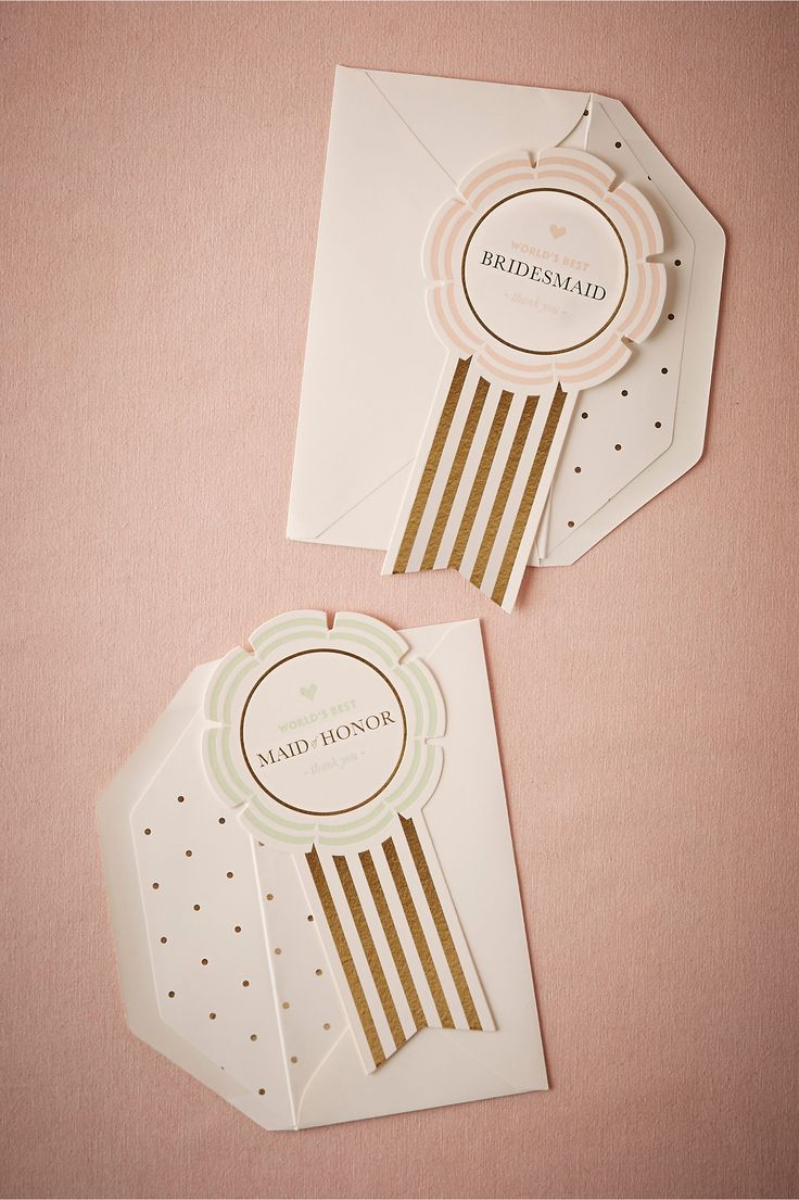 Worlds Best Ribbon Card from BHLDN