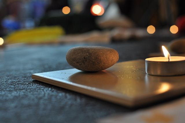 9 Cheap & Free Ways to Create a Blissful At-Home Yoga Space. ~ Kate Connell