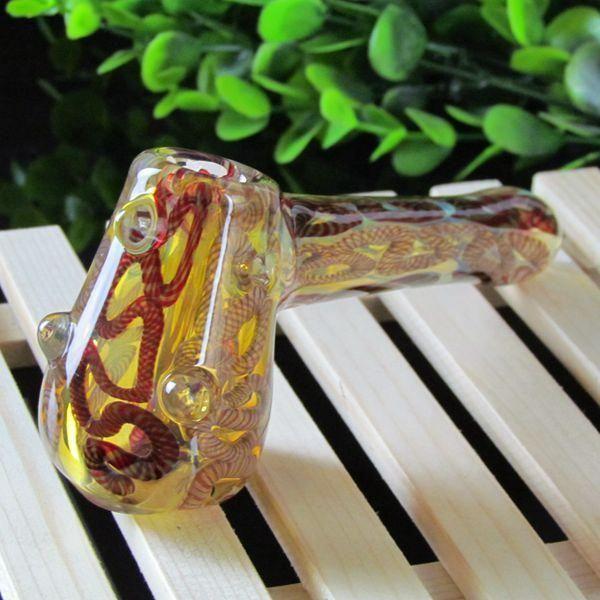 Симпатичные Дешевые Стеклянные Трубы Roor Бонги Для Курения Шерлок Мини Красочный Некурящих Труб