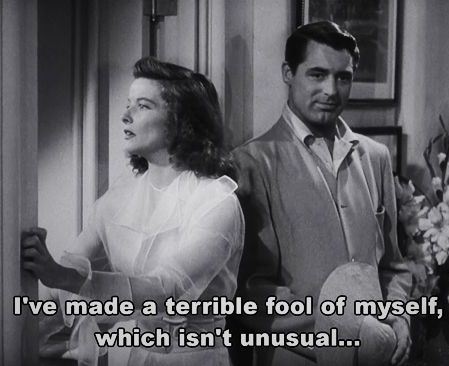 The Philadelphia Story, Cary Grant & Katharine Hepburn