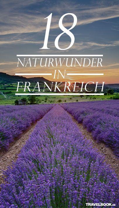 Was zum Staunen und Träumen: http://www.travelbook.de/europa/18-Orte-zum-Staunen-Die-schoensten-Naturwunder-Frankreichs-626177.html