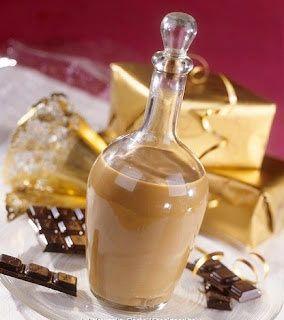 Ricetta Liquore alla nutellab]700 g di nutella 500 g di latte 500 g di panna da cucina 120 g di zucchero 150 g di alcool 50 g di acqua [/b]