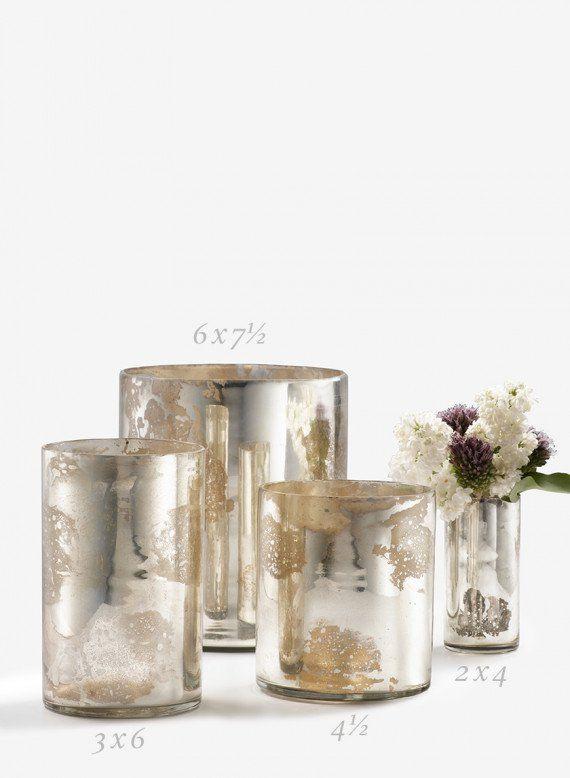 Best mercury glass wedding ideas on pinterest