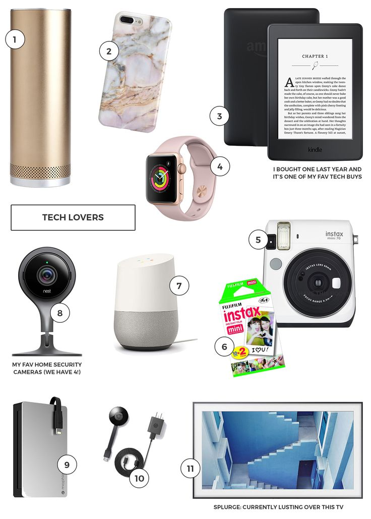 Gifts For The Tech Lover // holidays // gift guide