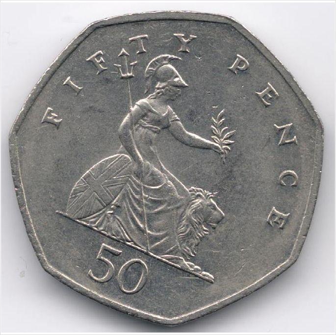 United Kingdom 50 Pence 1997 Veiling in de Decimaal,Brits,Munten,Munten & Banknota's Categorie op eBid België