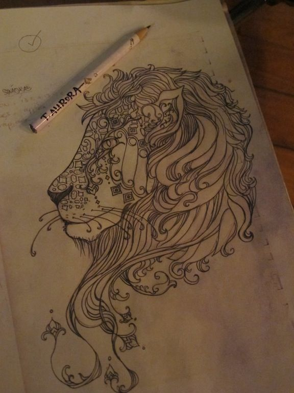 lion tattoo designs tumblr - Szukaj w Google                                                                                                                                                                                 More